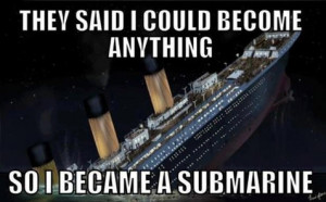 Titanic Backwards Funny Pictures Quotes Jokes