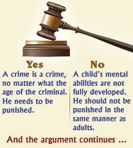 minors tried as adults essay Adult crimes, adult consequences violent juvenile crime can be quite chilling we are not supposed to be afraid of our children fostered partly by the.