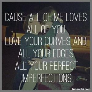 Lyric Art of All Of Me by John Legend