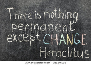 famous Ancient Greek philosopher Heraclitus quote about change on ...