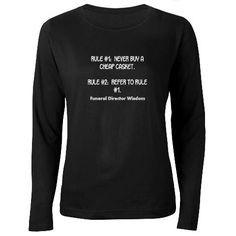 Funny Funeral Director T-Shirts http://www.cafepress.com/mf/83173818 ...