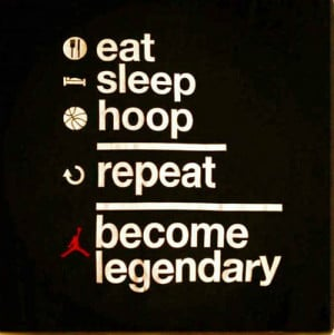Basketball Never Stops Quotes picture