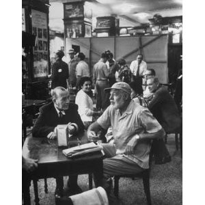 ... Coward and Ernest Hemingway at Sloppy Joe's Bar, Key West, Florida
