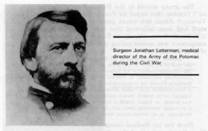 SurgeonJonathan Letterman, medical director of the Army of the Potomac ...