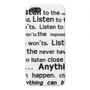 Shel Silverstein Quote iPhone Case Case For iPhone 5