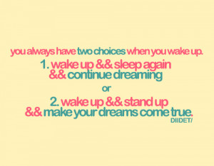 cute, dreams, pink, quotes, typography