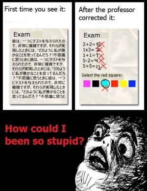 Funny photos funny exam before after grade
