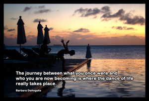 journey of life - road to recovery quote 1