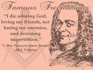 wanna die like Voltaire