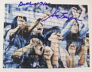 Sid Bernstein THE BEATLES AT SHEA STADIUM Signed Autograph 8x10 Photo