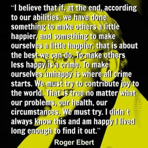 Roger Ebert - Quote