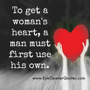 How to get a woman's Heart?