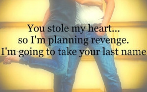 Cute quote for the engaged couple..