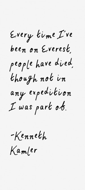 Kenneth Kamler Quotes & Sayings