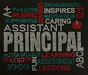 Assistant Principal on Etsy, $30.00