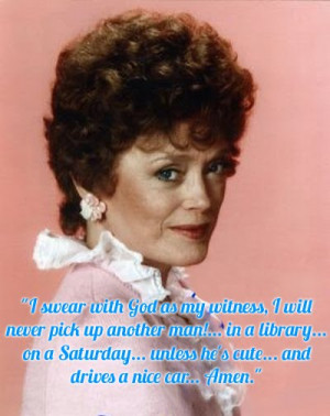 the sexiest blanche devereaux quotes