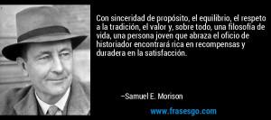 en recompensas y duradera en la satisfacci n Samuel E Morison
