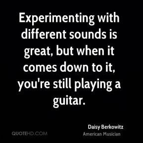 daisy-berkowitz-daisy-berkowitz-experimenting-with-different-sounds ...