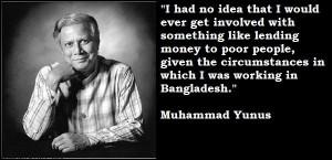 Muhammad yunus quotes 2