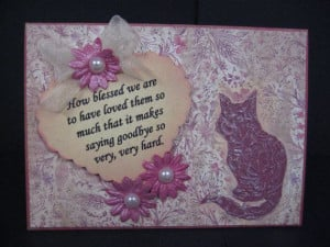 Dog Sympathy Cards Loss Pet