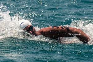 USA Swimming National Team Member Joey Pedraza (photo: Mike Lewis, Ola ...