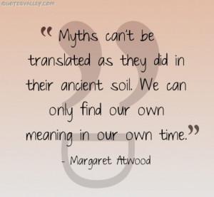 Quotes About Mythology