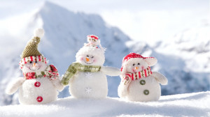 Cute Snowman for christmas 2014