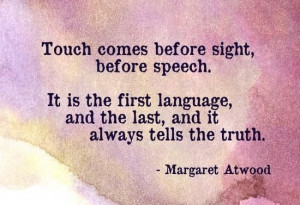 The power of touch & #massage