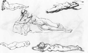 human anatomy drawing tutorial