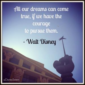 Good Job Team Quotes Walt disney quote dreams1