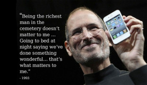 THE JOBS WAY: Steve Jobs on life, death and his philosophy.
