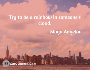 Inspirational Quote From Maya Angelou