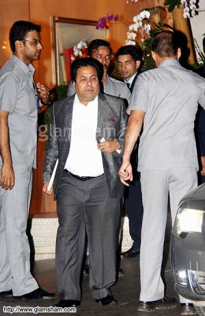 Rajeev Shukla at Mukesh ambani sachin tendulkar 100 century party ...