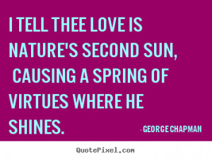 good love quote from george chapman create love quote graphic