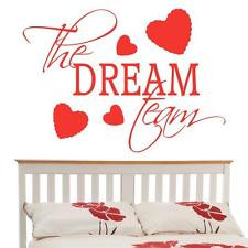 The Dream Team v2 - Wall Sticker Love Quote