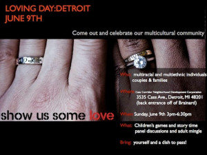 """thoughts on """" Freedom to Marry – Celebrate Loving Day in Detroit ..."""