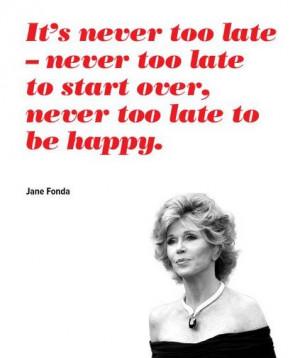 Jane Fonda ...purpleclover.com