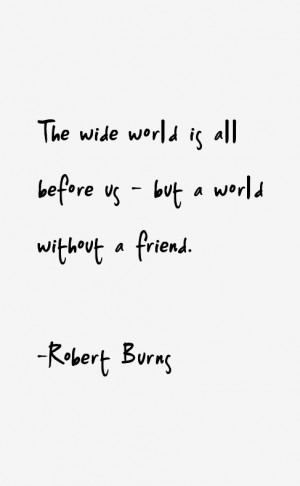 Robert Burns Quotes & Sayings