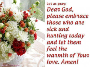 Prayer Quotes For The Sick Prayer for sic