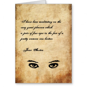famous quote from jane austen s pride prejudice add your own text to ...