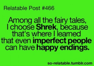 Shrek, happy ending, fairy tale