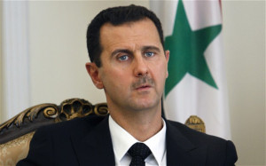 Bashar al-Assad 'will run for a third term if Syrian people want him'