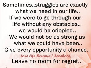 quotes about getting through life struggles