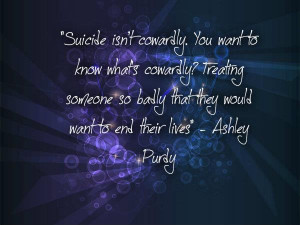 Ashley Purdy quote: by Ima-Monster1
