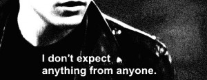 trust no one # trust noone # expectations # quote # love # hate ...