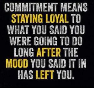Quote, Fitspiration, motivation, commitment