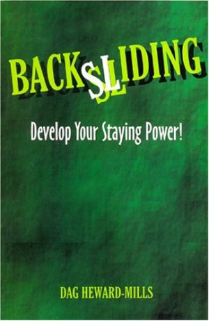 "Start by marking ""Backsliding"" as Want to Read:"
