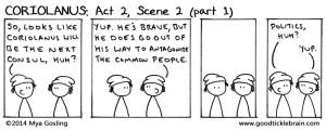 Coriolanus, part 8