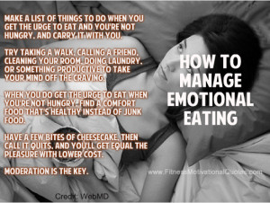 Are You Eating Your Emotions?