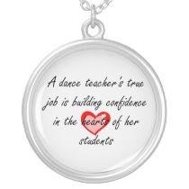 Male Dance Teacher – Building ConfidenceCustom Necklace by ...